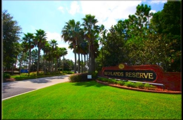 Highlands Reserve Entrance